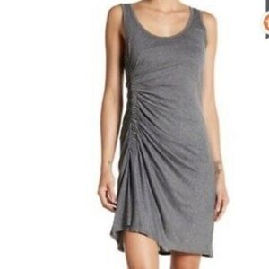 A.L.C. Lelah Ruched Side Tank Dress Heather Grey